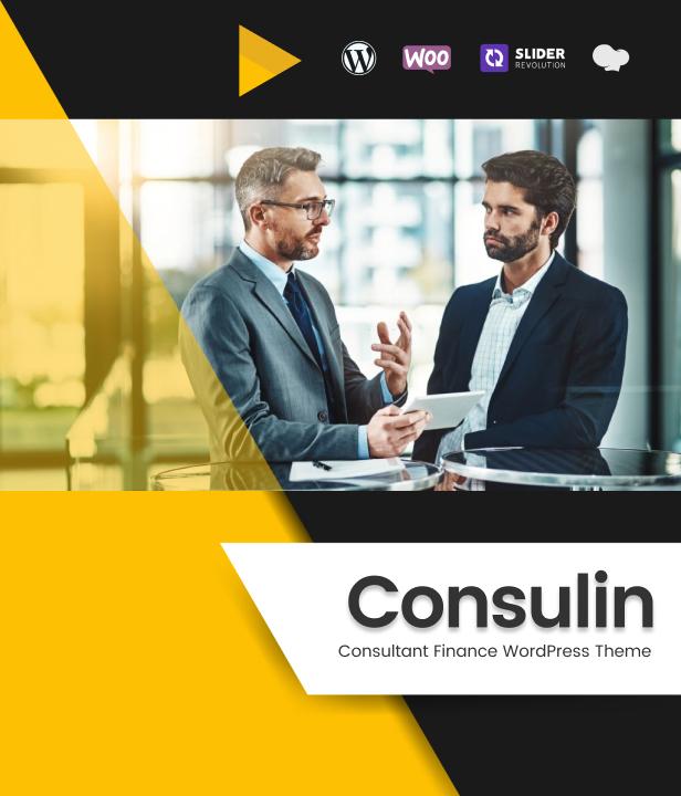 Consulin - Consultant Finance WordPress Theme - 2