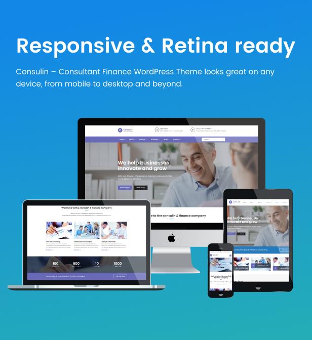 Consulin - Consultant Finance WordPress Theme - 8