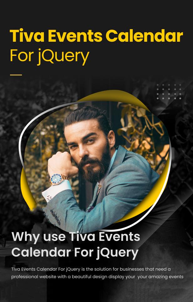 Tiva Events Calendar For jQuery - 5