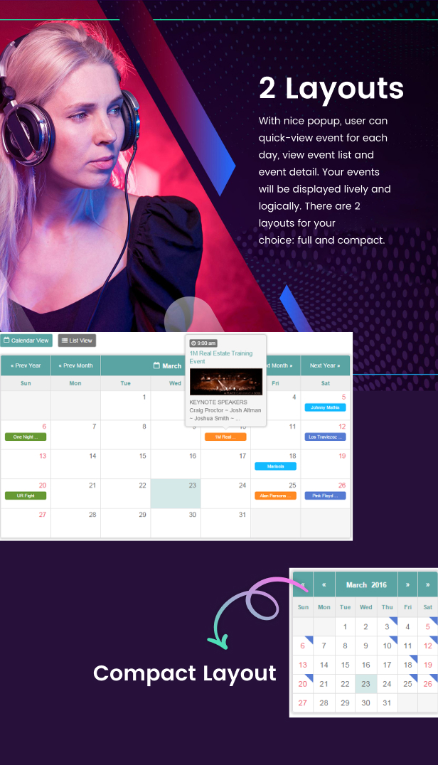 Tiva Events Calendar For PHP - 10