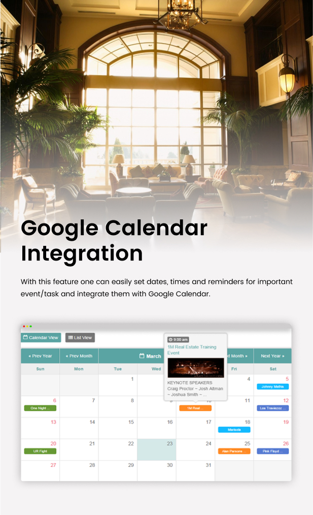 Tiva Events Calendar For PHP - 11