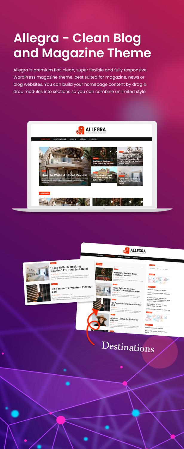 Allegra - A Multilayout Blog & Magazine Theme - 12