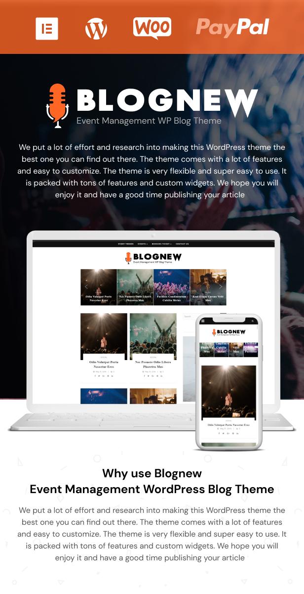 Blognew – Event Management WordPress Blog Theme - 5