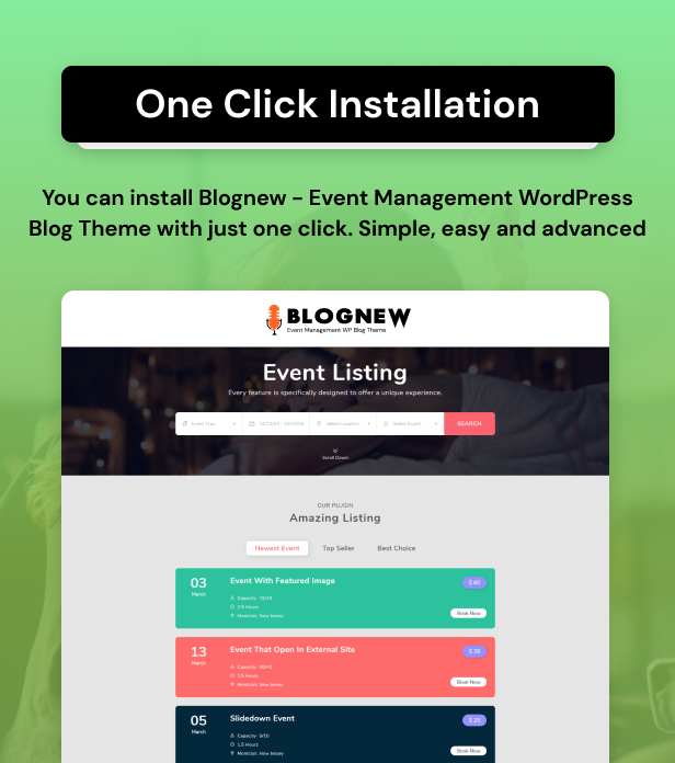 Blognew – Event Management WordPress Blog Theme - 13