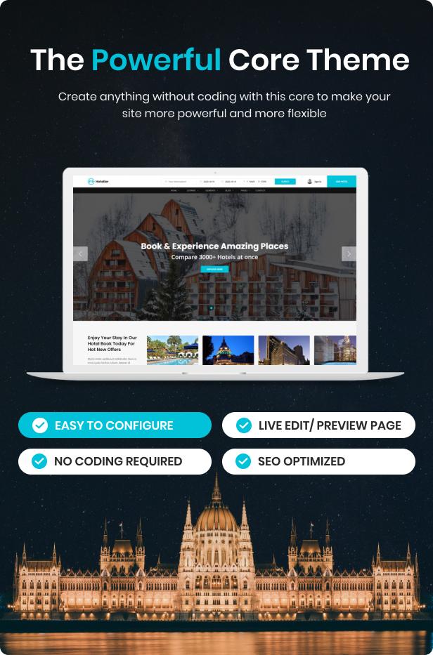 WordPress Hotel Booking Theme