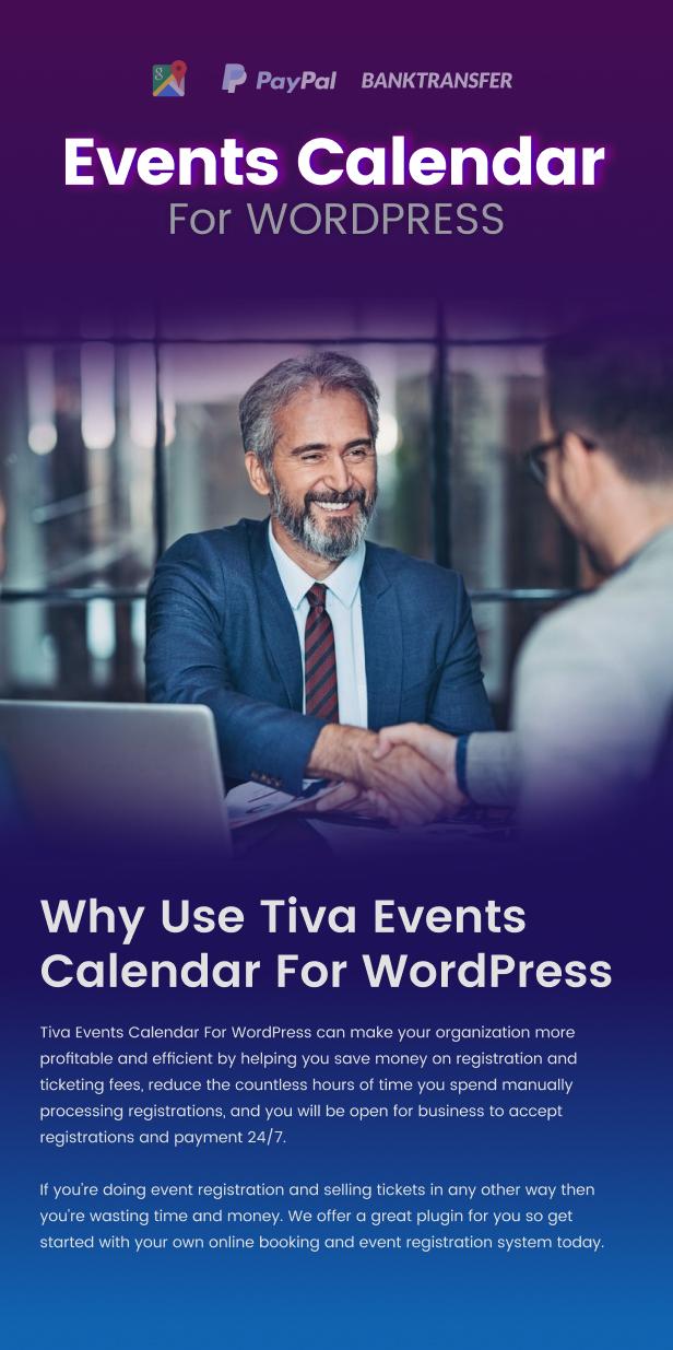 Tiva Events Calendar For WordPress - 5