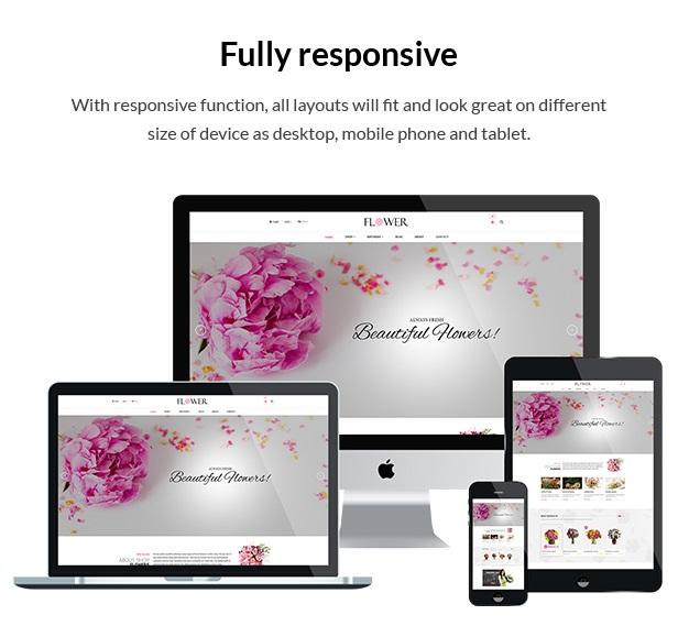 Creative Flower Woocommerce WordPress Theme - 6