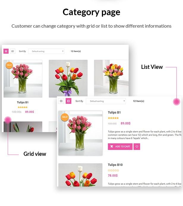 Creative Flower Woocommerce WordPress Theme - 7