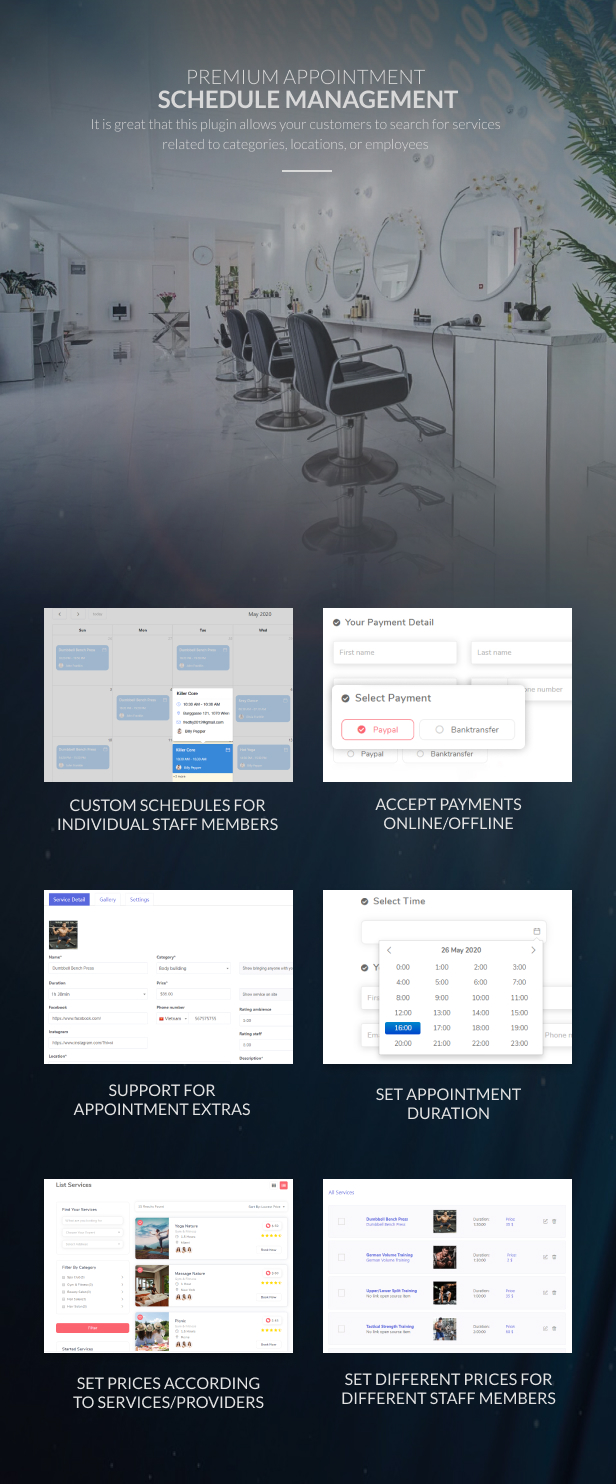 WP Appointment Booking & Scheduling - 10